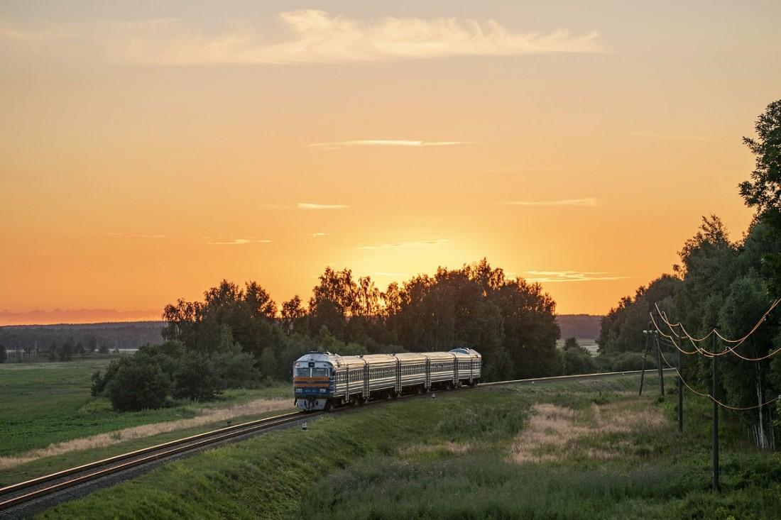 Поезд ДР1А. Беларусь, перегон Ошмяны - Солы