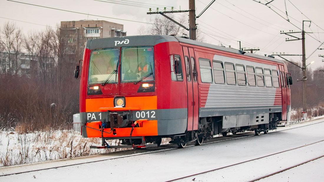 Модификация 0012 рельсового автобуса РА1