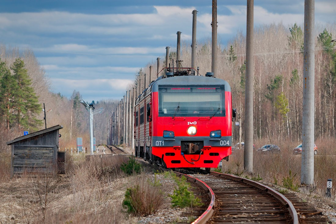 Дизель поезд ДТ1