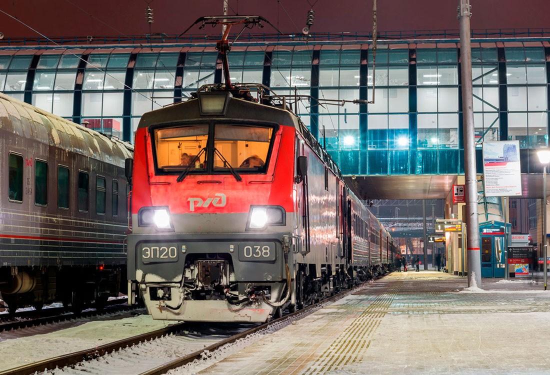 Локомотив электровоза ЭП20