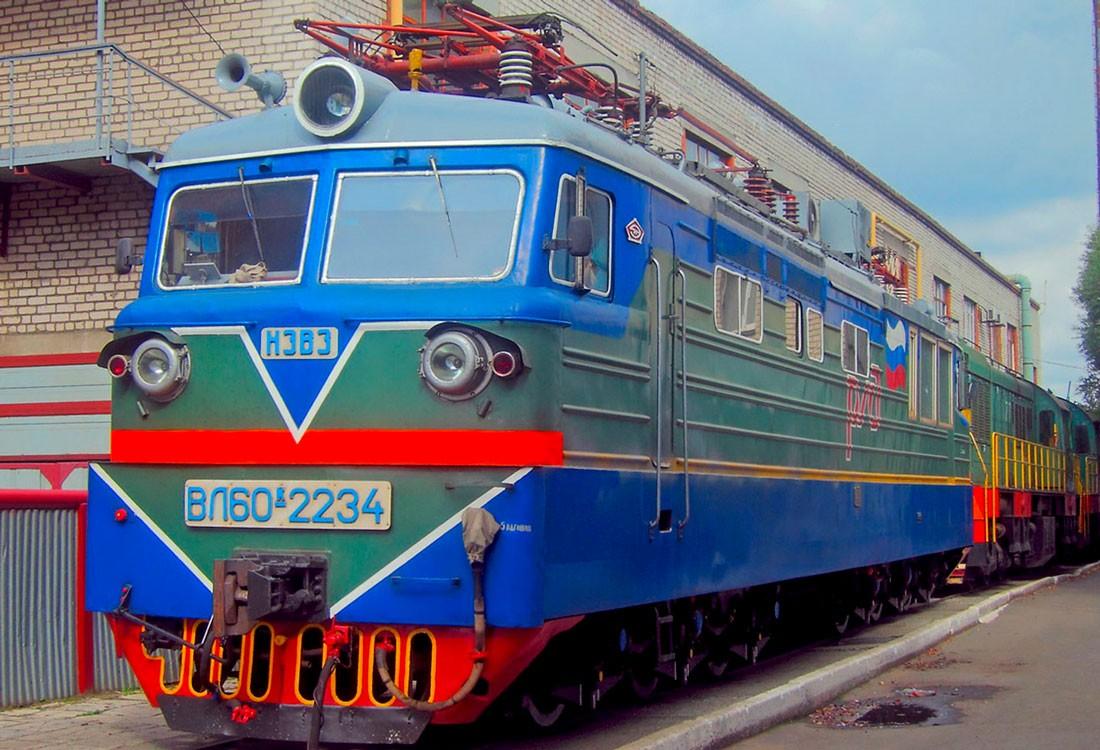 Локомотив ВЛ10. Россия, Челябинская область, депо Челябинск