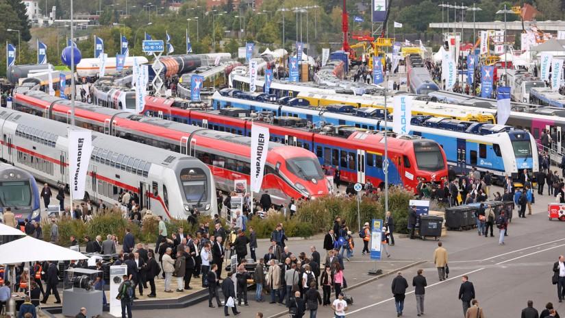 Экспонаты на выставке InnoTrans