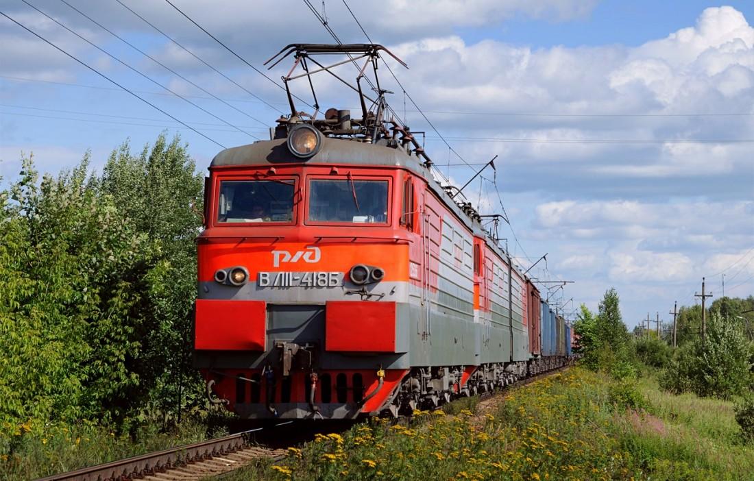 ВЛ11 по пути в Москву
