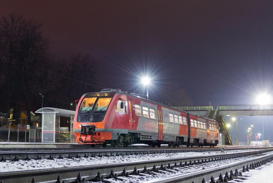 РА2 ночью на станции