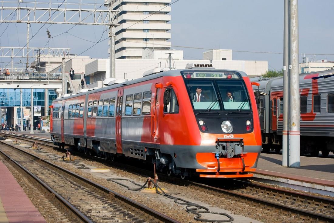 РА2 на вокзале