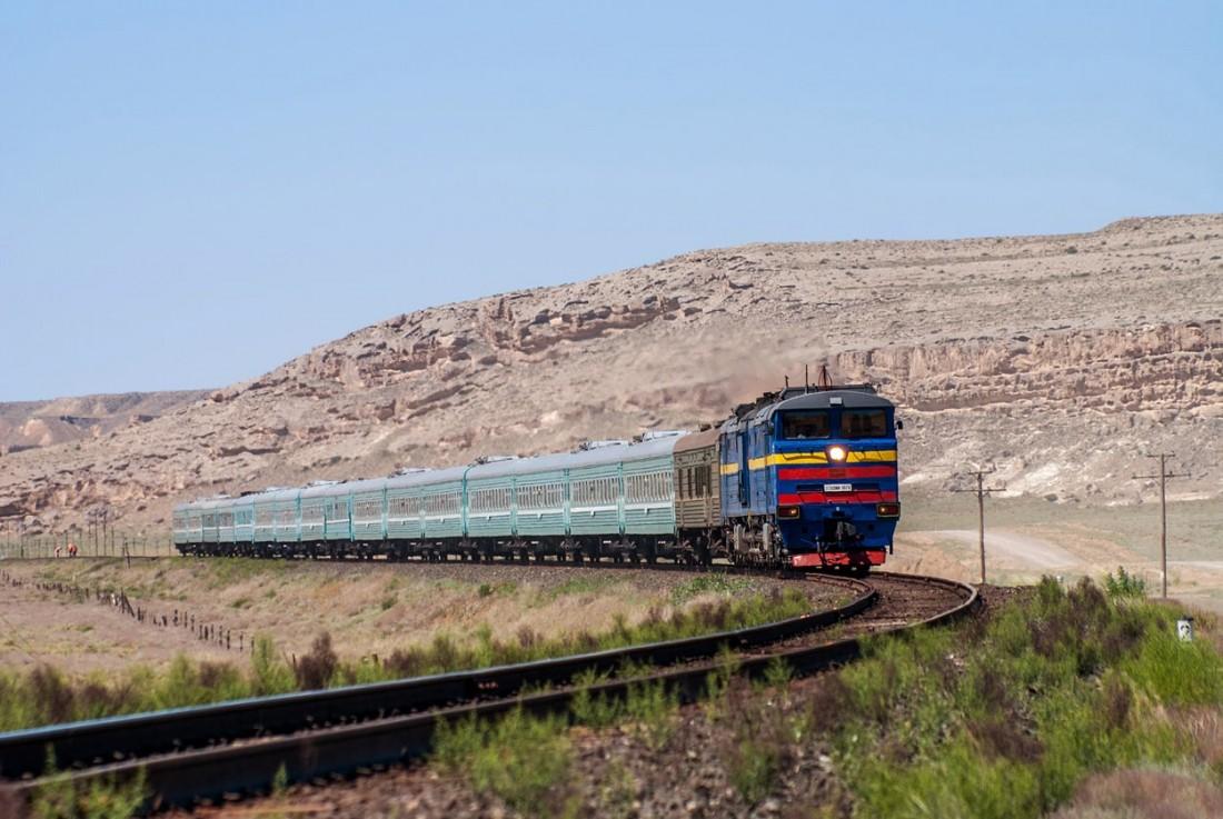 2ТЭ10МК в Казахстане