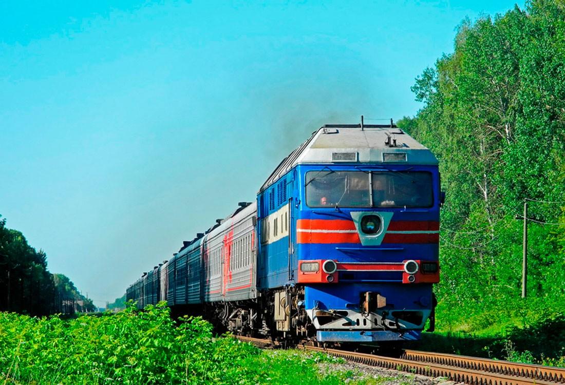 Тепловоз ТЭП70 Украина, Черниговская область, перегон пост Южный — Григоровка