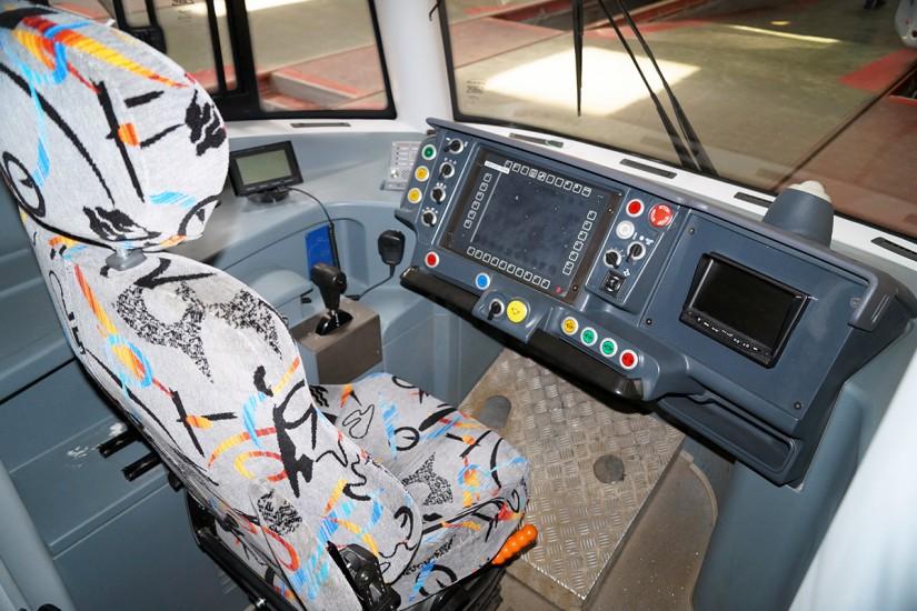 Салон трамвая Pesa