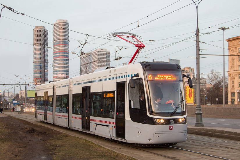 Трамвай Pesa 71-414 в Москве, маршрут №6