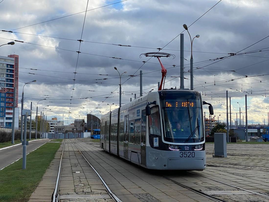 Трамвай Pesa с токоприемников ТрА 01-СЭТ 90