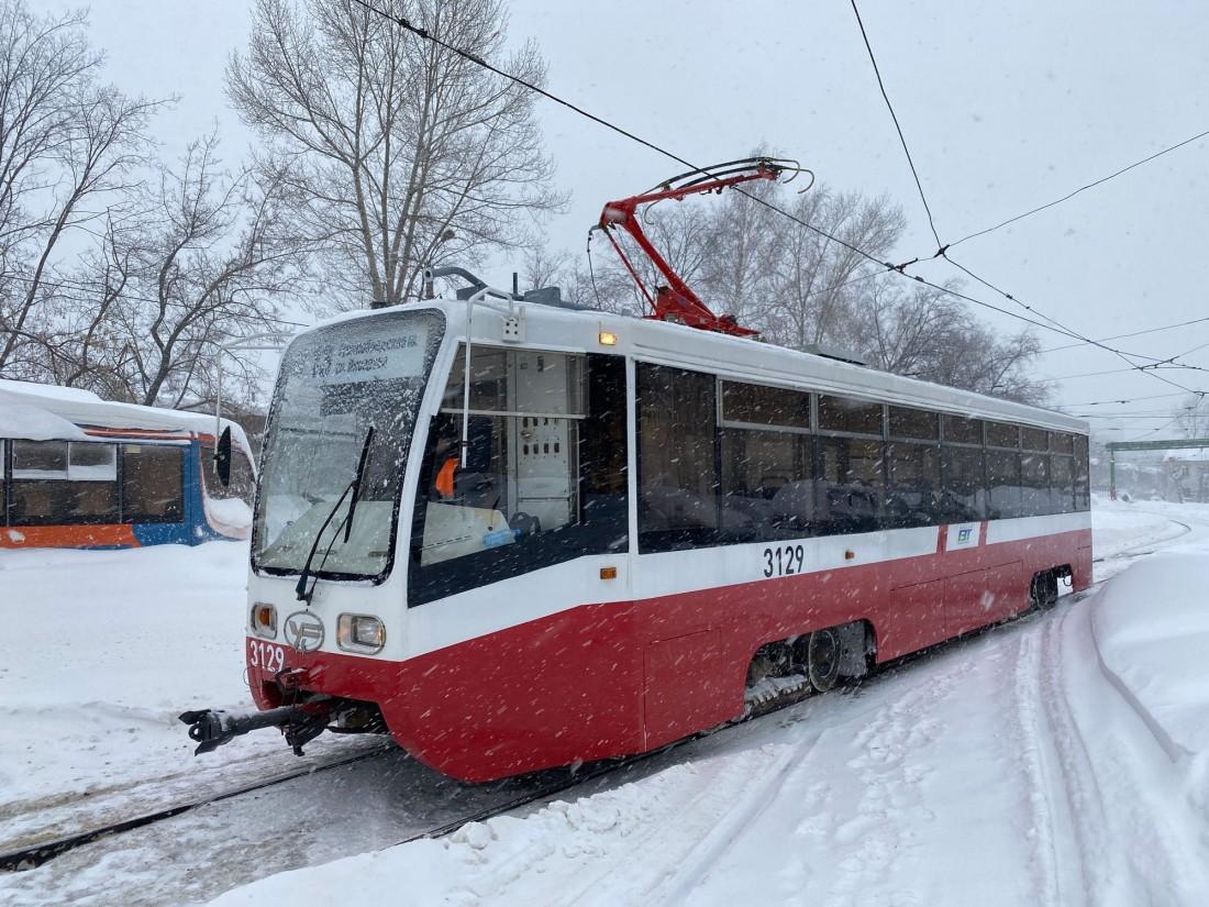 Трамвай 71-619