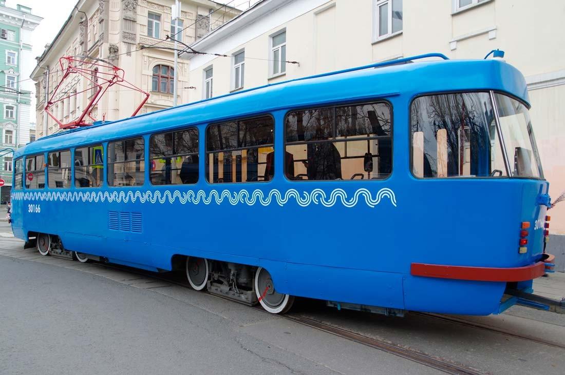 Новая модификация трамвая Татра Т3