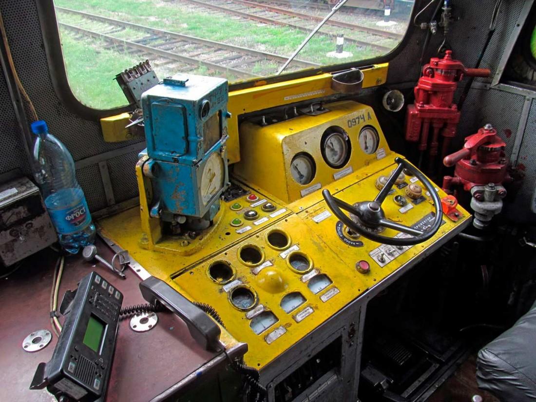 Кабина и пульт управления 2М62