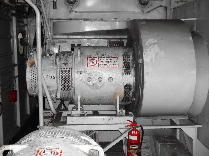 ДвигательТЛ-2К на электровозе ВЛ10
